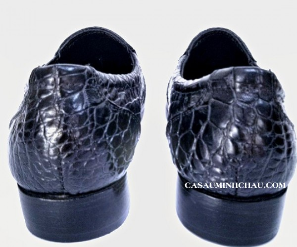 giày da cá sấu - cá sấu minh châu