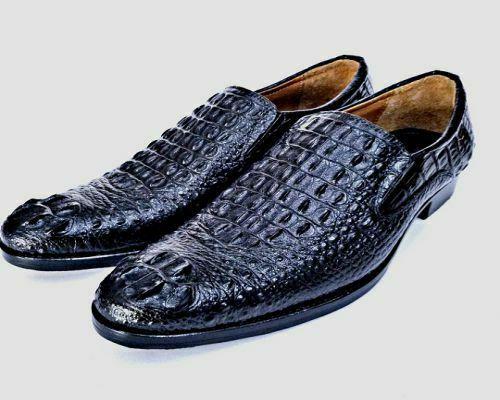 Giày da cá sấu hàng hiệu Minh Châu