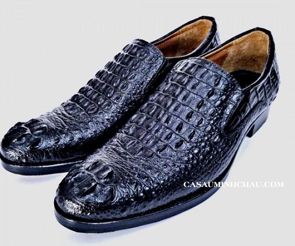 Giày da nam cá sấu xịn, xuất khẩu