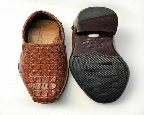 giày da cá sấu nhập khẩu hàng hiệu
