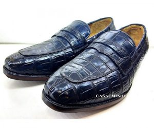 Giày lười nam da cá sấu cao cấp