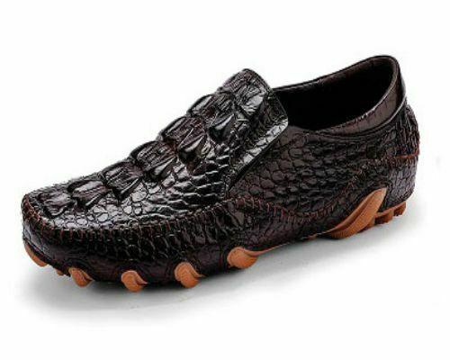 giày lười nam da cá sấu chất lượng