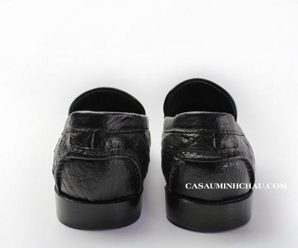 giày mọi da đà điểu