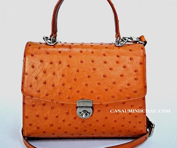 Túi xách da đà điểu bền, đẹp nên rất được yêu thích